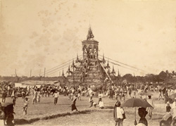 A Phoongyee-byan, cremation of a priest [Burma]